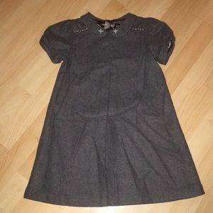Brand New Baby Gap Gray Wool Toddler Dress